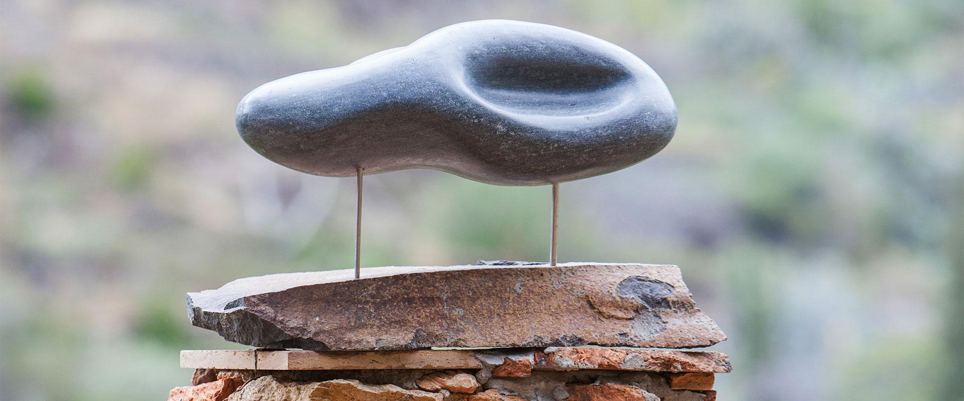 Objekt mit Stein